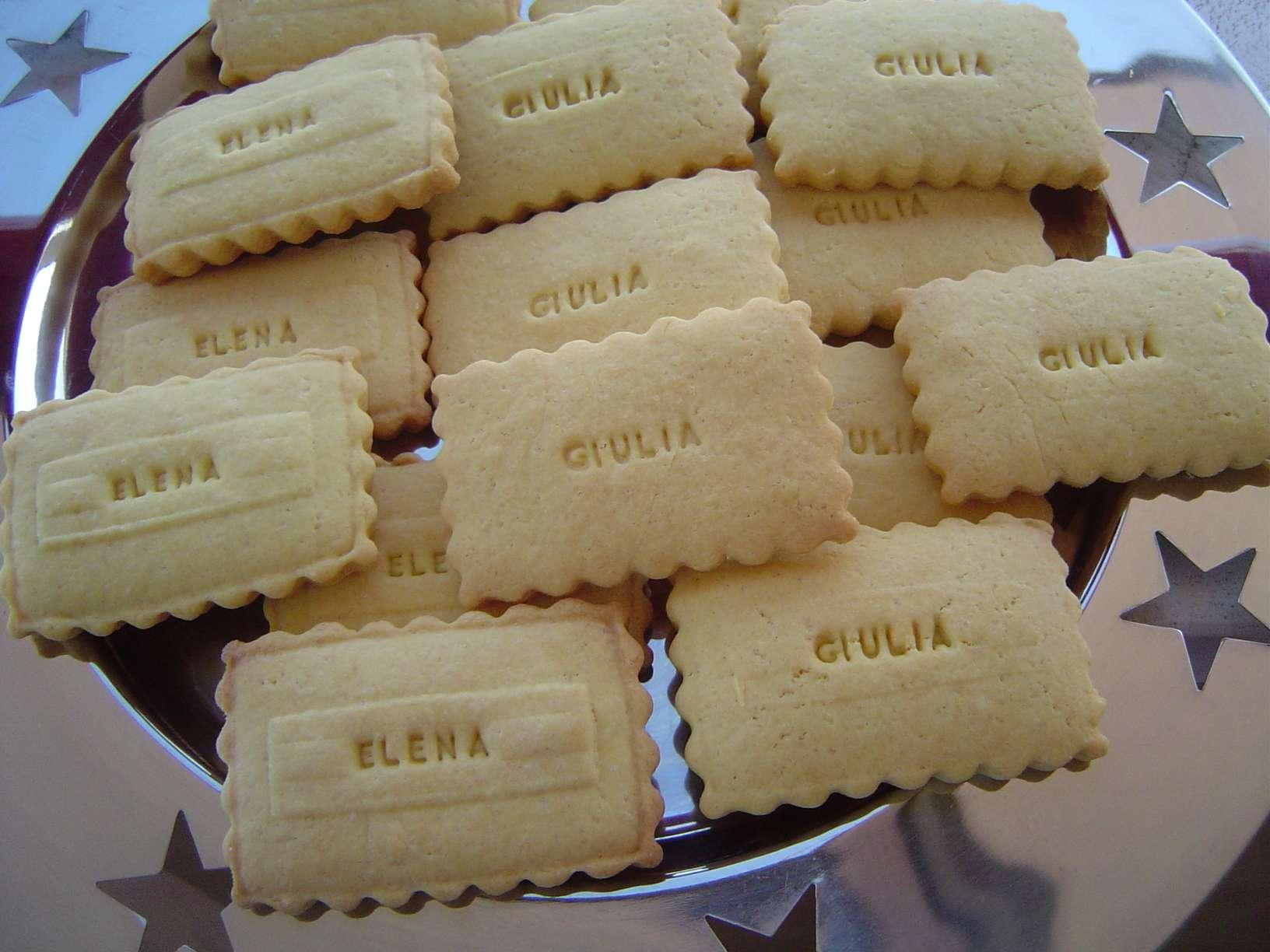 """Eccezionale Biscotti """"personalizzati"""" su la cucchiarella DI37"""